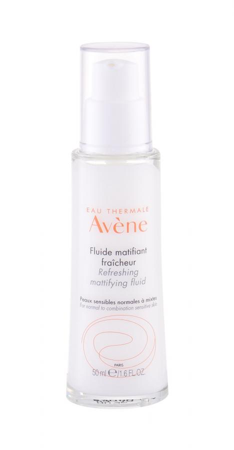 Avene Refreshing Mattifying Fluid Sensitive Skin (W)  50ml, Pleťový gél