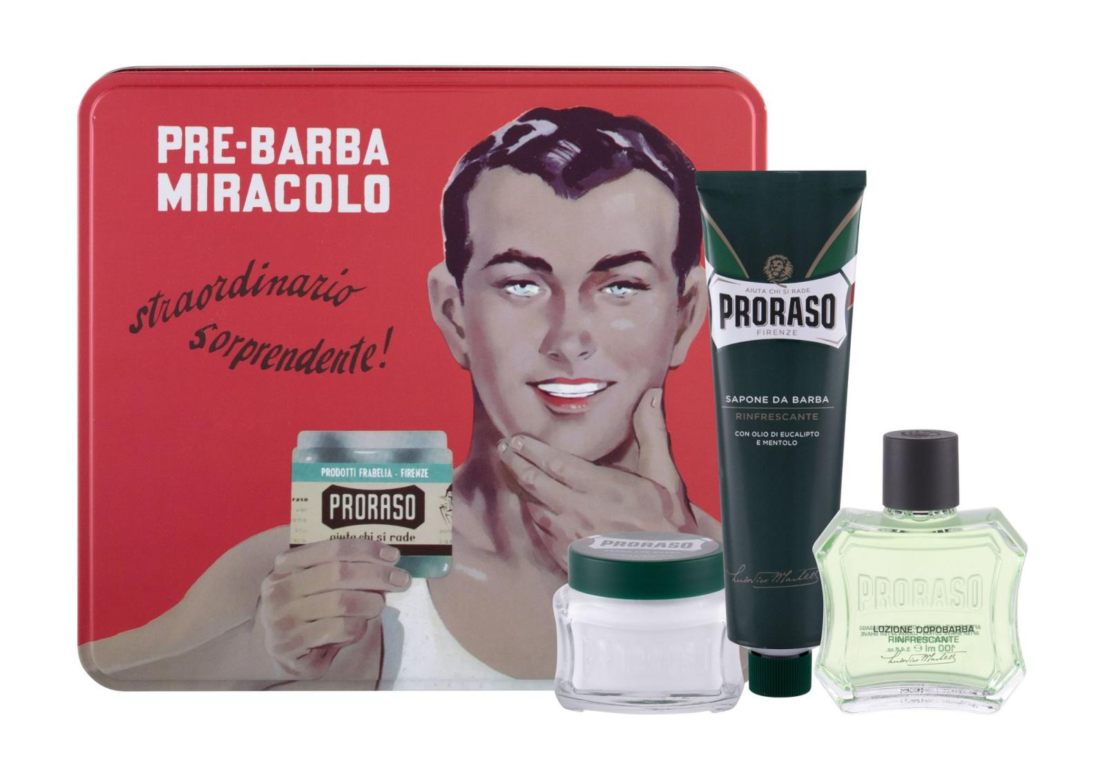 PRORASO After Shave Lotion Green (M)  100ml, Voda po holení
