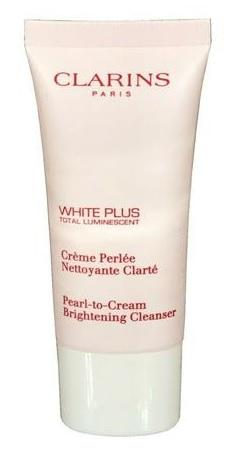 Clarins White Plus Total Luminescent  Brightening Cleanser 30ml, Čistiaca pena