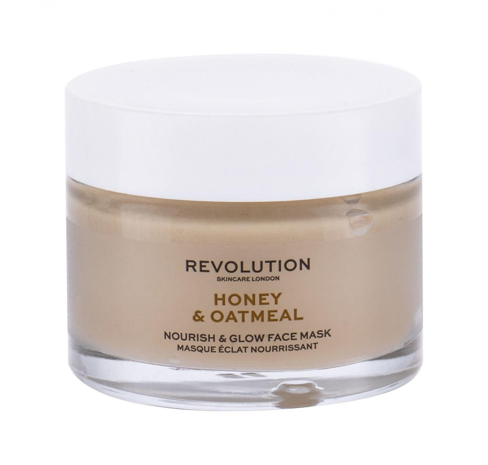 Revolution Skincare Honey & Oatmeal (W)  50ml, Pleťová maska