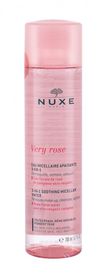 NUXE 3-In-1 Soothing Very Rose (W)  200ml, Micelárna voda