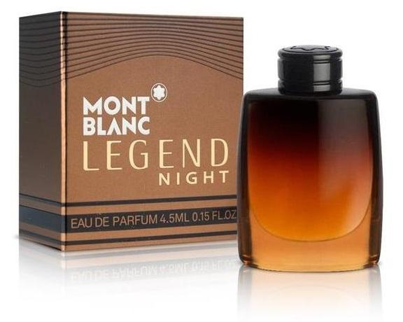 Montblanc Legend Night 4.5ml, Parfumovaná voda (M)