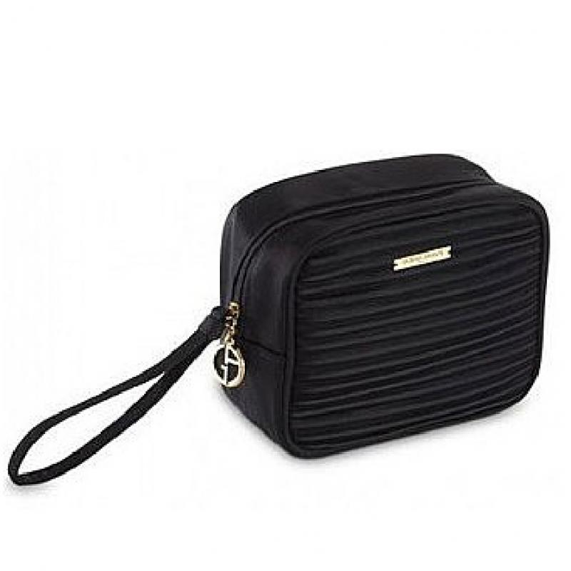 Giorgio Armani Make Up Bag Lux Black - kozmetická taška