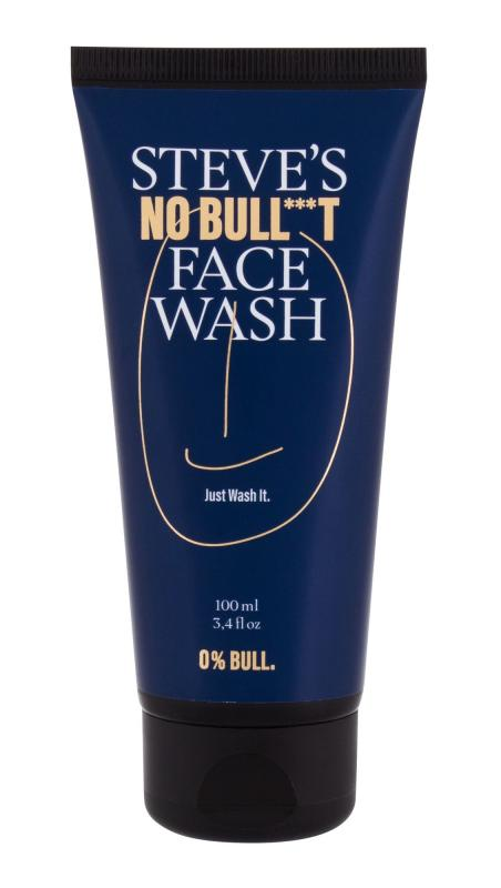 Steve´s No Bull***t Face Wash (M)  100ml, Čistiaci gél