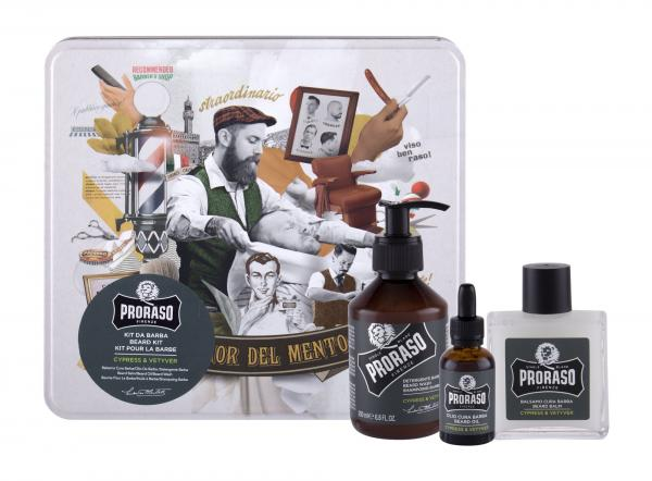 PRORASO Beard Wash Cypress & Vetyver (M)  200ml, Šampón