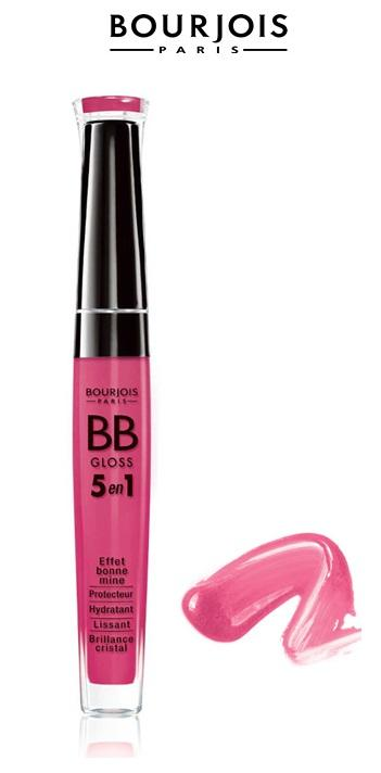 BOURJOIS Paris 5in1 BB Gloss 01 Claire 5.7ml, Lesk na pery