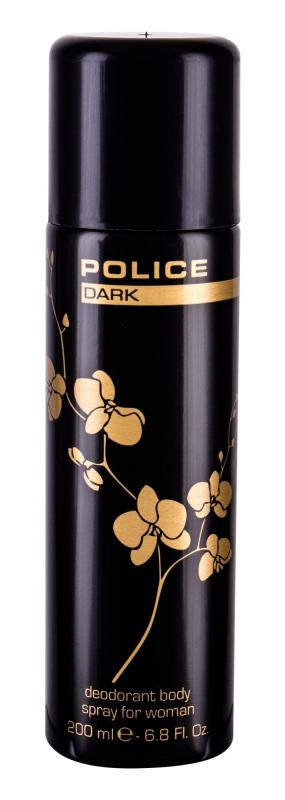 Police Dark Women (W)  200ml, Dezodorant