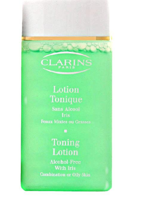 Clarins Toning Lotion With Iris 50ml, Čistiaca voda (W)