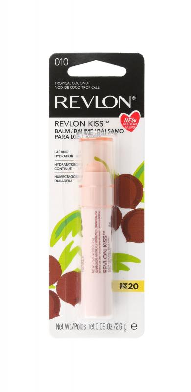 Revlon Kiss 010 Tropical Coconut 2.6g, Balzam na pery