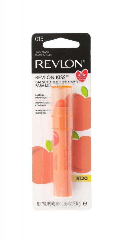 Revlon Kiss 015 Juicy Peach 2.6g, Balzam na pery