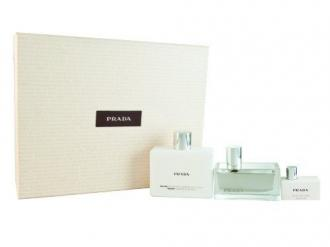 Prada Amber Tendre Edp 50ml + 100ml telové mlieko + mini Edp 7ml
