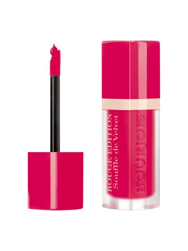 BOURJOIS Paris Souffle de Velvet Rouge Edition 05 Fuchsiamallow 7.7ml, Rúž