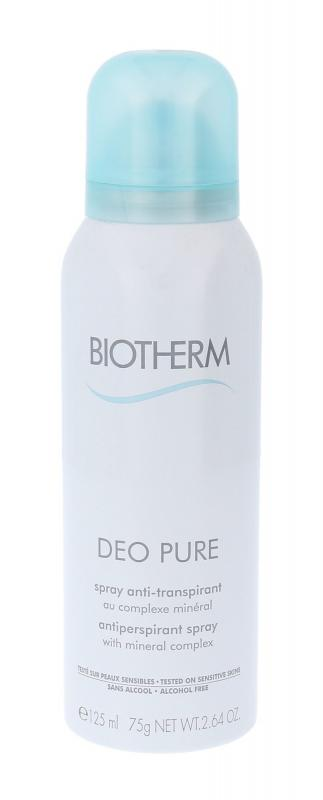 Biotherm Deo Pure (W)  125ml, Antiperspirant
