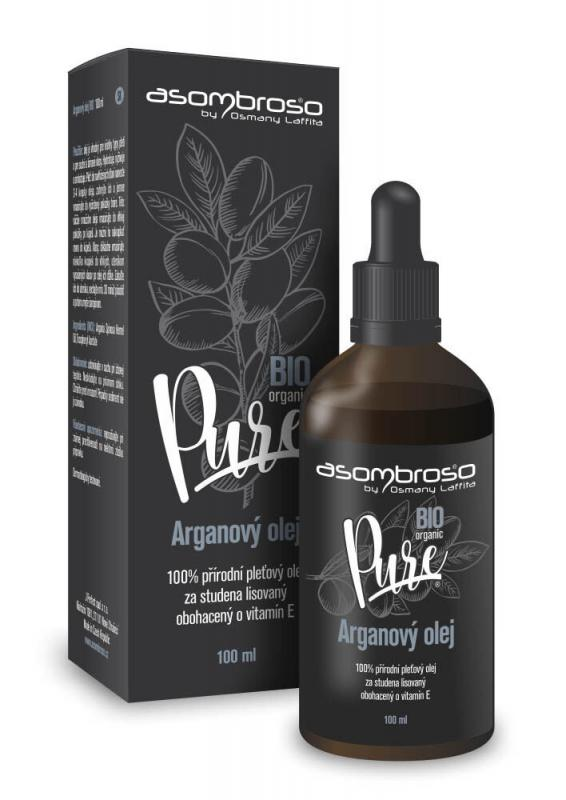 Asombroso Argan Oil Pure BIO (W)  100ml, Telový olej