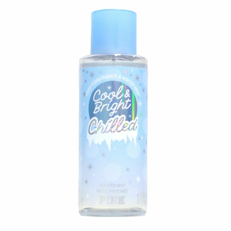 Victoria´s Secret Pink Cool And Bright Chilled 250ml, Telový sprej (W)
