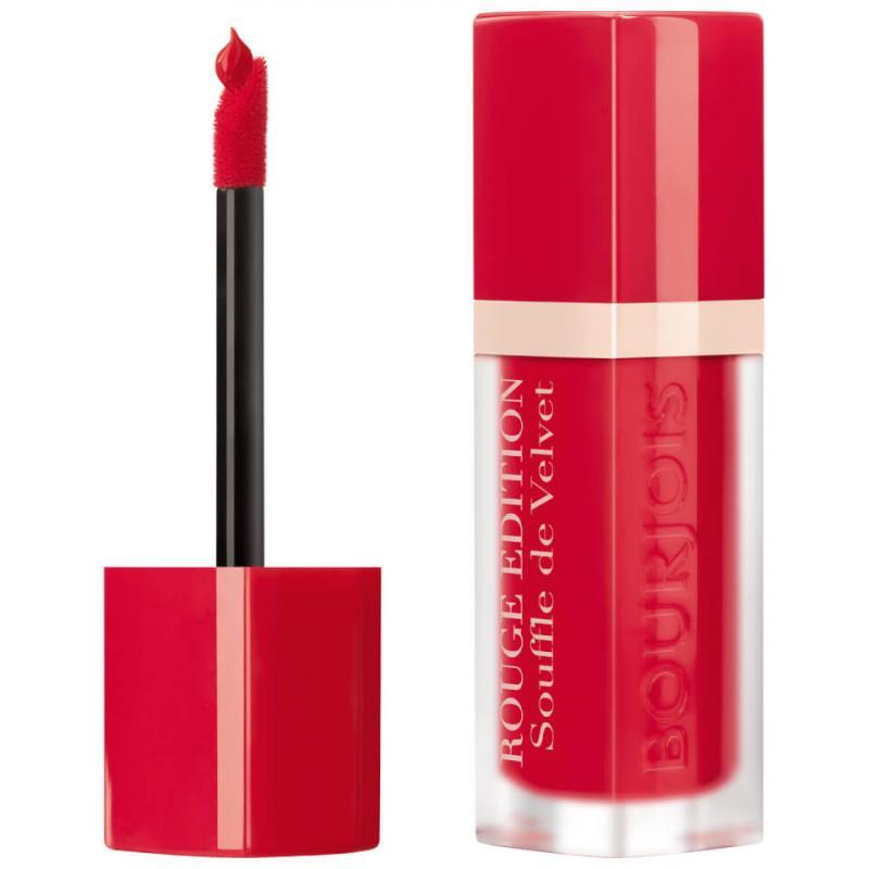 BOURJOIS Paris Souffle de Velvet Rouge Edition 06 Cherry Leaders 7.7ml, Rúž