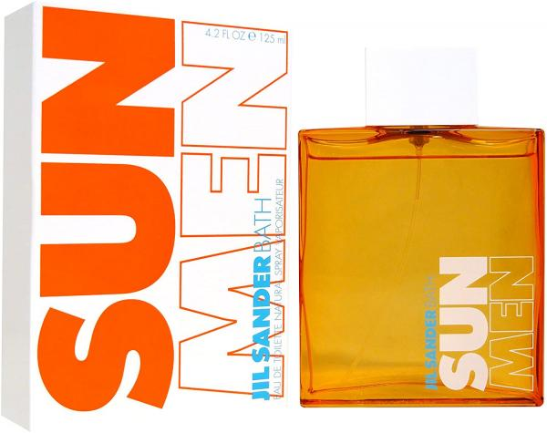 Jil Sander Sun Bath For Men 125ml, Toaletná voda (M)