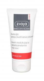Ziaja Med Smoothing Night Cream Anti-Wrinkle Treatment (W)  50ml, Nočný pleťový krém