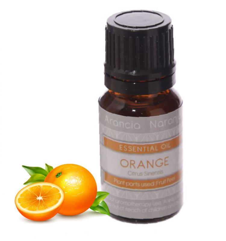 Eden Essential Oil Orange 10ml, Esenciálny olej