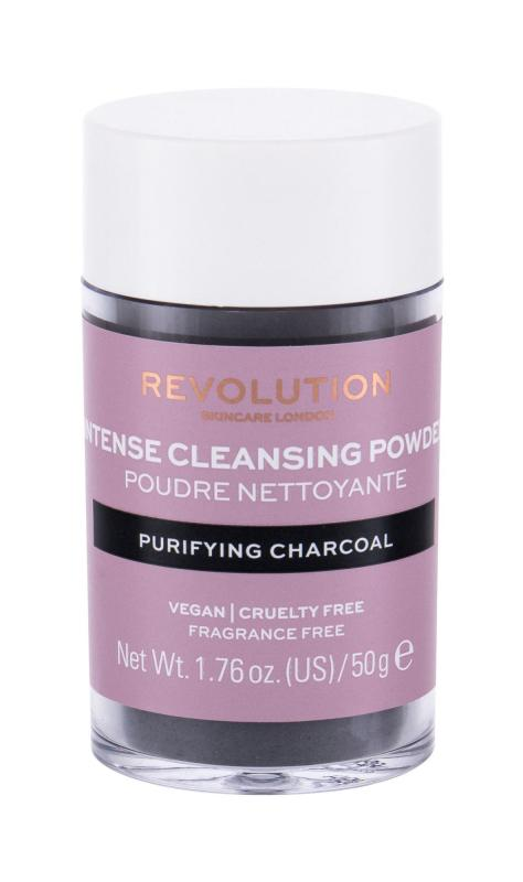 Revolution Skincare Purifying Charcoal Cleansing Powder (W)  50g, Čistiaca pena