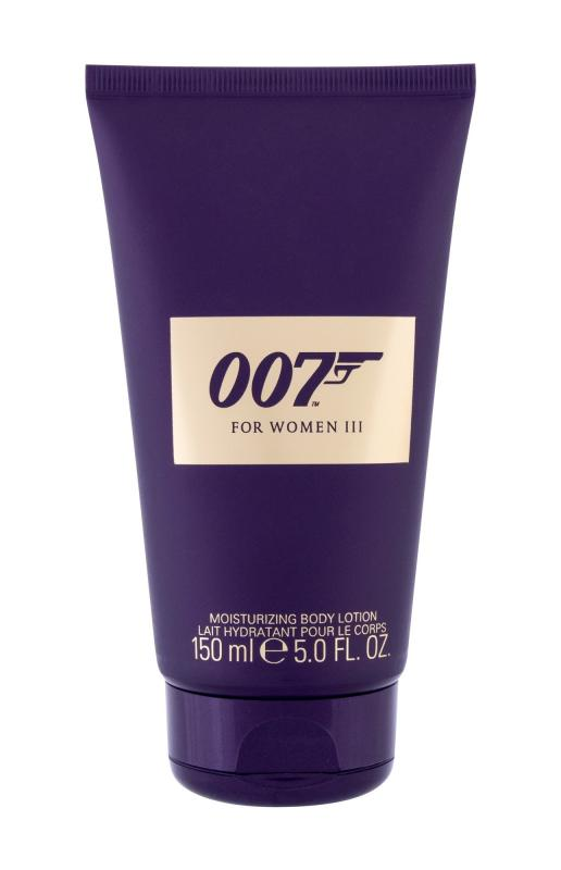 For Women III James Bond 007 (W)  150ml, Telové mlieko
