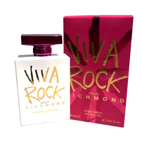 John Richmond Viva Rock 200ml, Sprchovací gél (W)