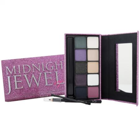 Victoria´s Secret Midnight Jewels Eye Kit 18.28g, Dekoratívna kazeta