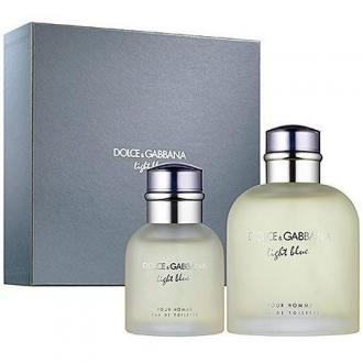 Dolce & Gabbana Light Blue Pour Homme EdT 125ml + 40ml EdT (M)