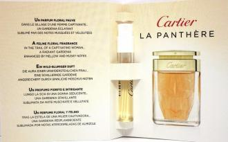 Cartier La Panthere 1.5ml, Parfumovaná voda (W)