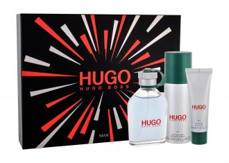 HUGO BOSS Hugo Man EdT 125ml + deodorant 150ml + sprchovací gél 50ml (M)