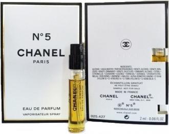 Chanel No.5 2ml, Parfumovaná voda