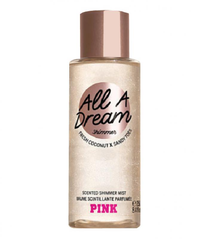 Victoria´s Secret All a Dream Shimmer 250ml, Telový sprej (W)