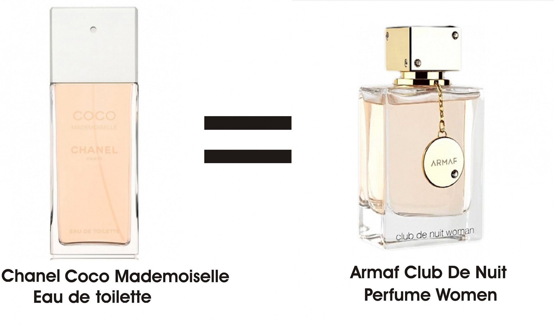 Armaf Club de Nuit Women is Chanel Coco Mademoiselle clone